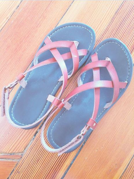 Sandals: Payless, kids size 2