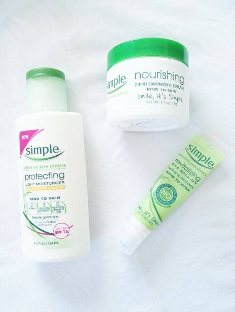 Simple Daytime and Nighttime Moisturizer