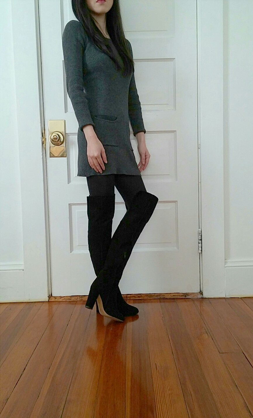 sweater-dress-over-the-knee-boots