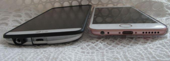 LG G3 vs. iPhone 6s III